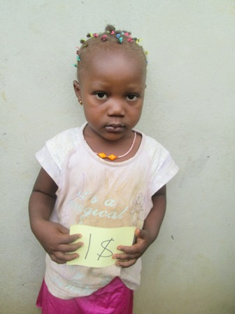 Ebola Orphan looking for family